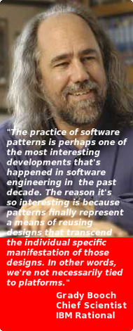 Grady Booch on Software Design Patterns